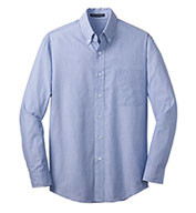 Mens Crosshatch Easy Care Shirt