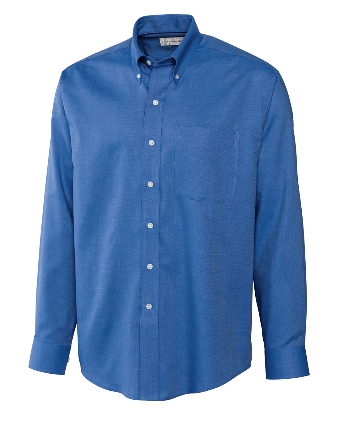 Mens Easy Care Nailshead Dress Shirt