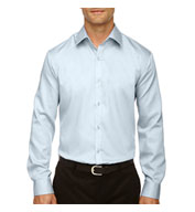 Mens Dobby Oxford Trim Dress Shirt