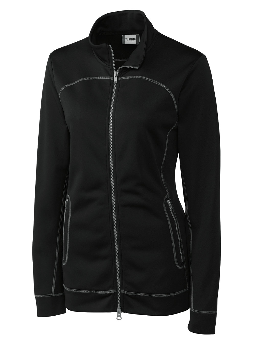 Ladies Helsa Full Zip Poly Fleece