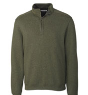 Custom Mens Forest Park Quarter Zip