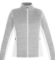 Shuffle Ladies Performance Melange Interlock Jacket