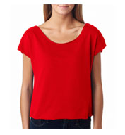 Next Level Ladies Terry Dolman Tee