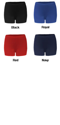 B-Fit Compression Ladies Short - 2.5 Inseam - All Colors