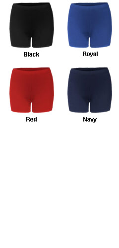 B-Fit Compression Ladies Short - 4 Inseam - All Colors
