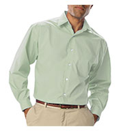 Mens Long Sleeve Poplin Dress Shirt