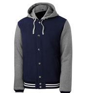 Insulated Heavy Weight Fleece Letterman Jacket