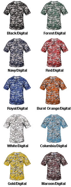 Adult B-Core Digital 2-Button Placket - All Colors