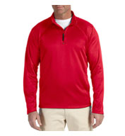 Custom Mens Stretch Quarter-Zip Tech-Shell®