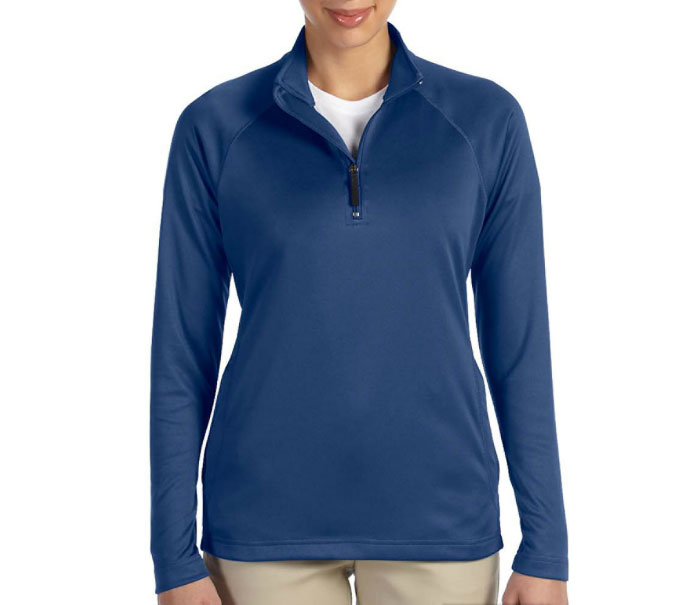 Ladies Stretch Quarter-Zip Tech-Shell�