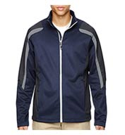Mens Strike Color-Block Fleece Jacket