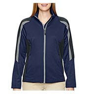 Ladies Color-Blocked Fleece Jacket