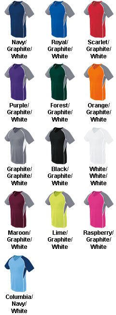 Girls Short Sleeve Evolution Jersey - All Colors