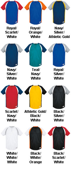 Adult Gravity Two-Button Jersey - All Colors