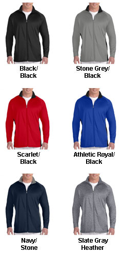 Champion 5.4 oz Performance Colorblock Full-Zip Jacket - All Colors