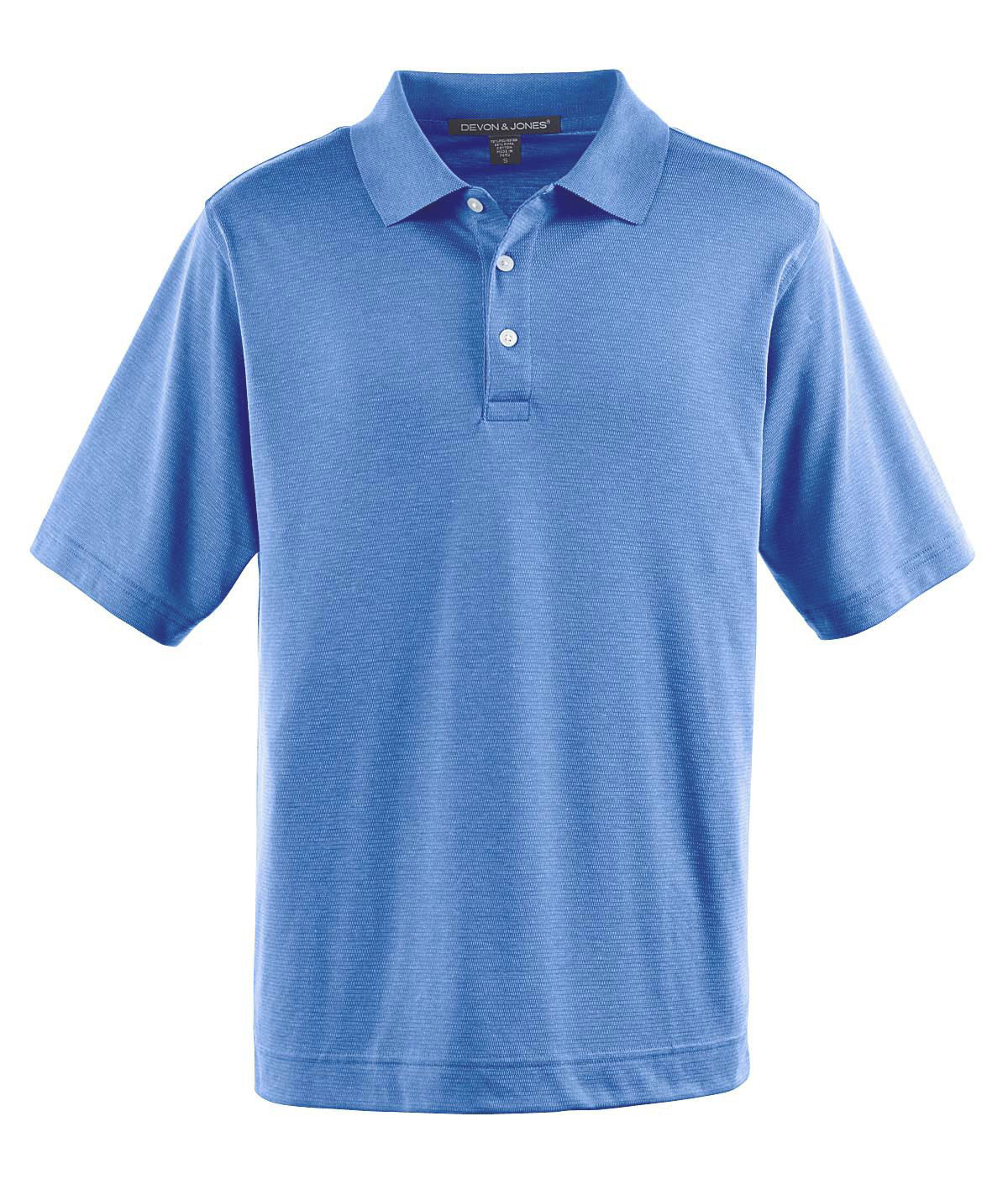Mens Pima-Tech� Jet Pique Heathered Polo