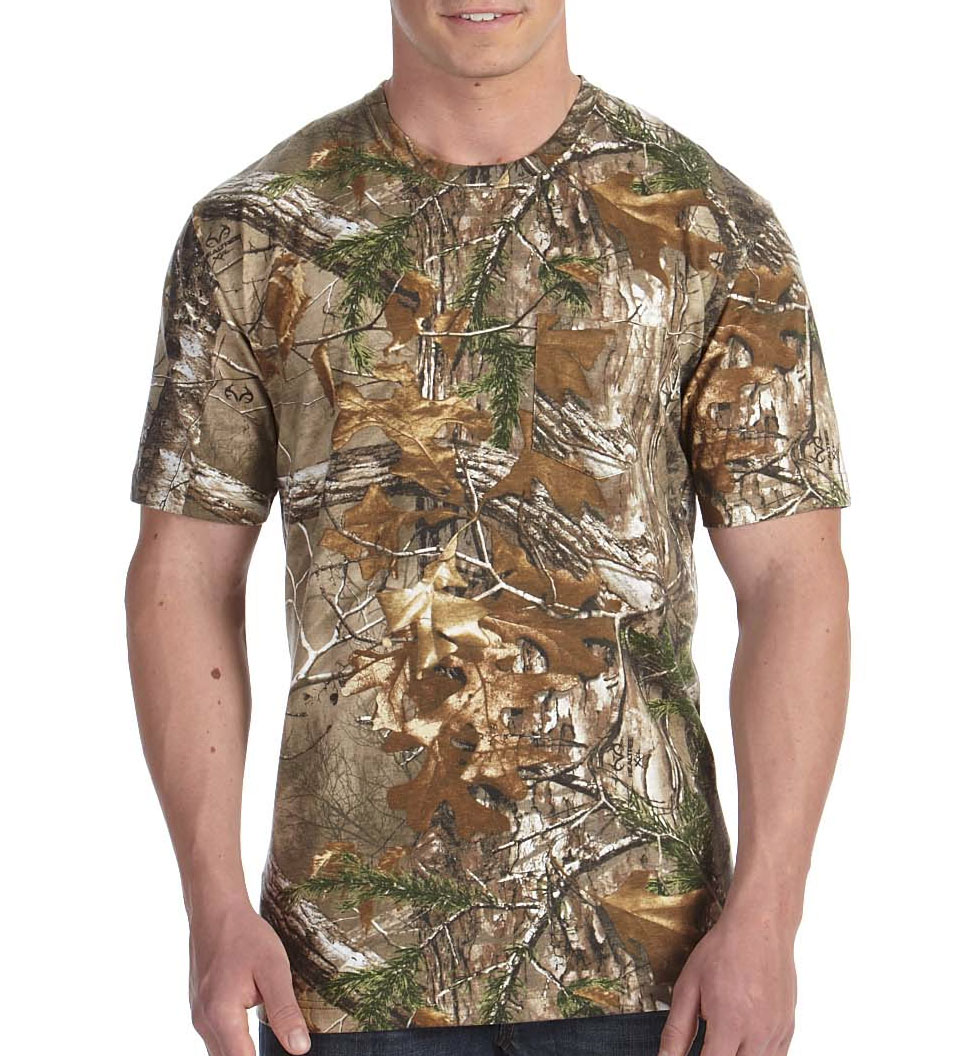 RealTree� Camouflage Pocket T-Shirt by Code V
