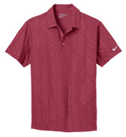 Custom Nike Golf Dri-Fit Embossed Polo Mens
