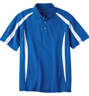 Custom Ping Mens Groove Polo