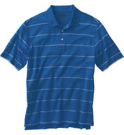 Custom Ping Mens Grain Polo