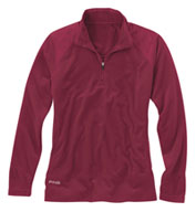 Custom Ladies Ping Nineteenth Quarter-Zip Pullover