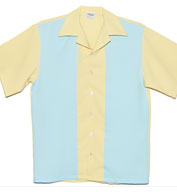 Custom Lemon Drop USA Made Bowling Shirt