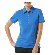 Custom Callaway Ladies Chev Stretch Ventilated Polo