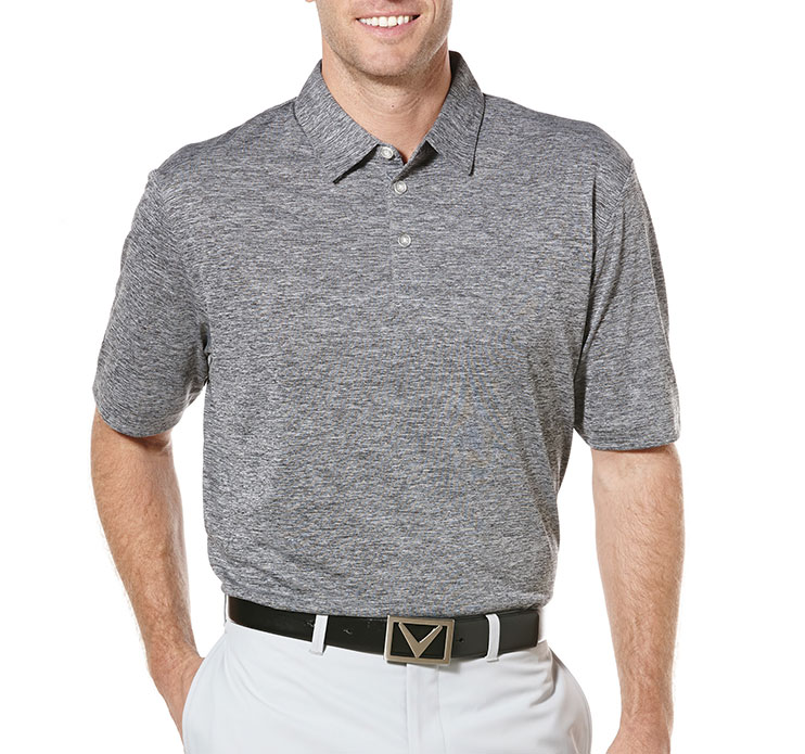 Callaway Heathered Performance Polo