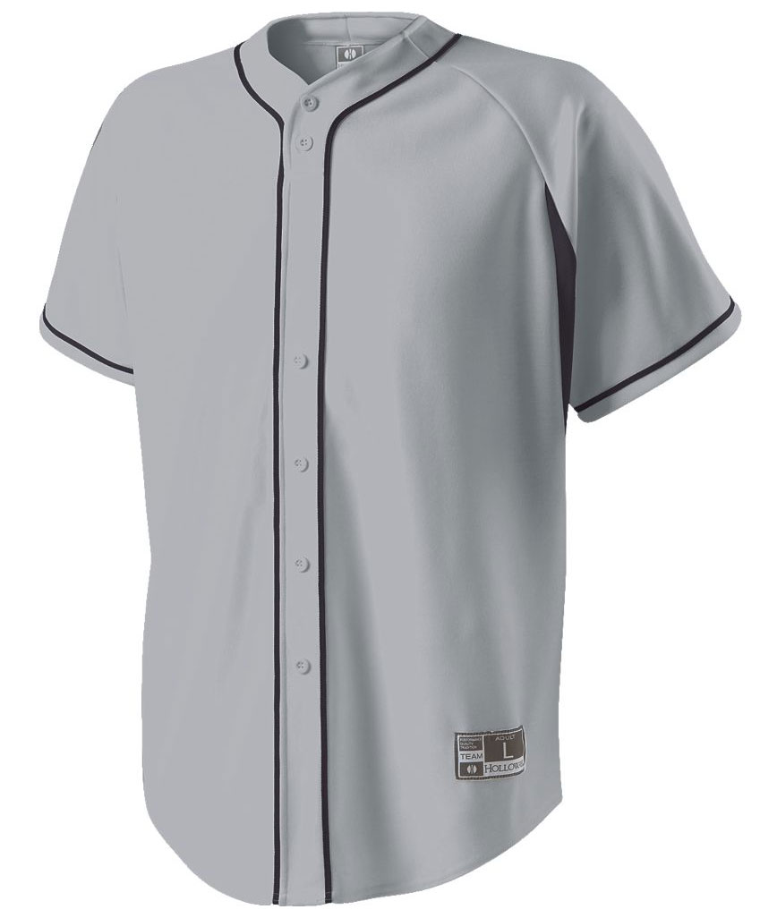 Holloway Adult Ignite Faux Full Button Jersey