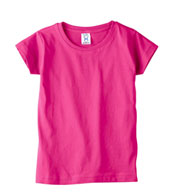Custom Toddler Girls T-Shirts