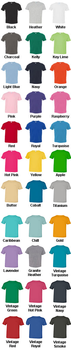 Toddler Fine Jersey T-Shirt - All Colors