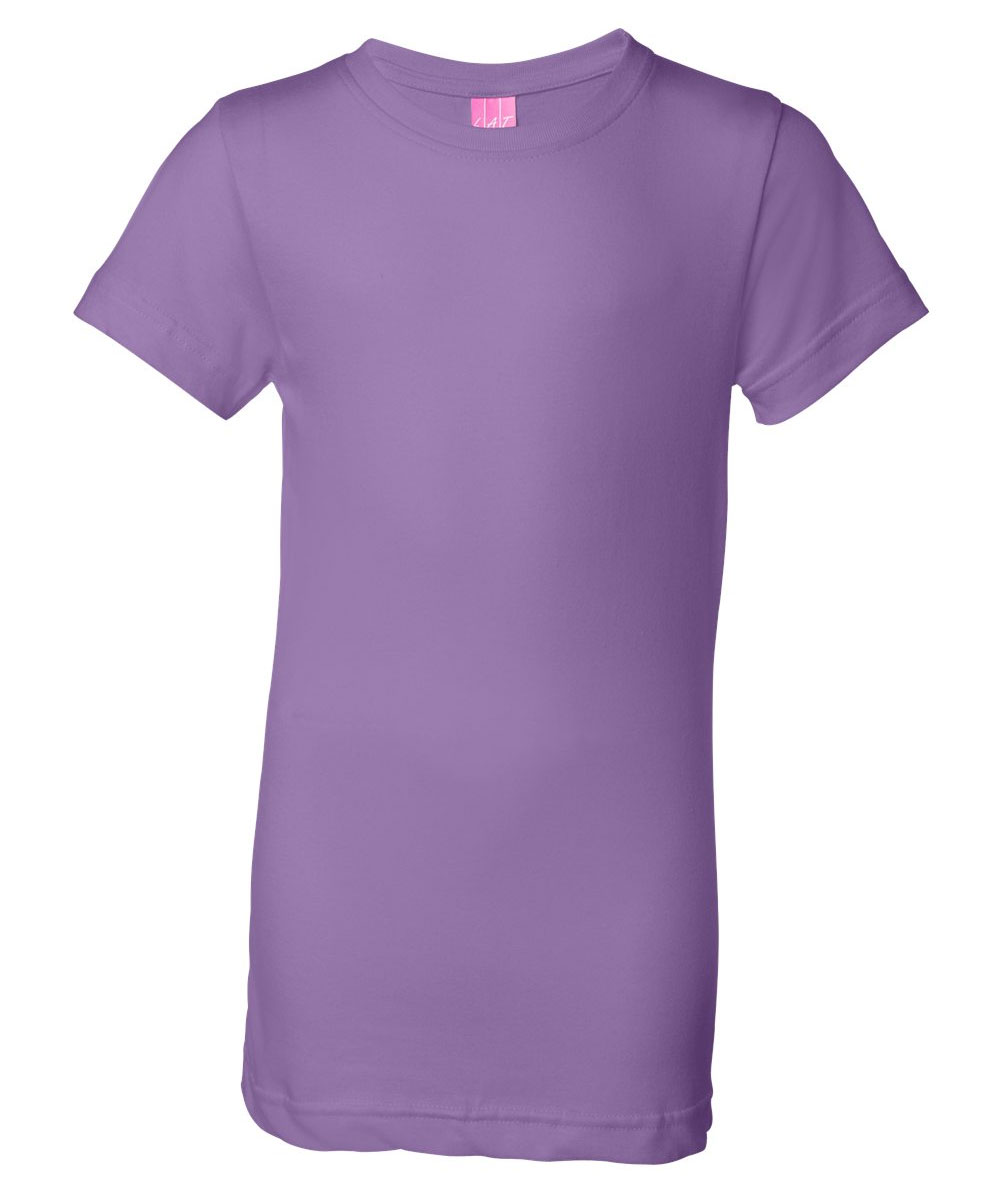 Girls Fine Jersey Long T-Shirt