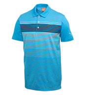 Custom Puma Engineered Stripe Tech Polo Mens