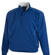 Page and Tuttle Mens Free Swing™ Quarter Zip Windshirt
