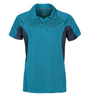 Custom Womens Laguna Technical Two-Tone Polo