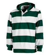 Custom Hooded Rugby Pullover by Charles River
