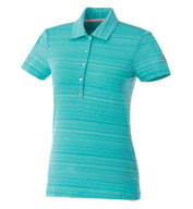 Puma Golf Womens Barcode Polo