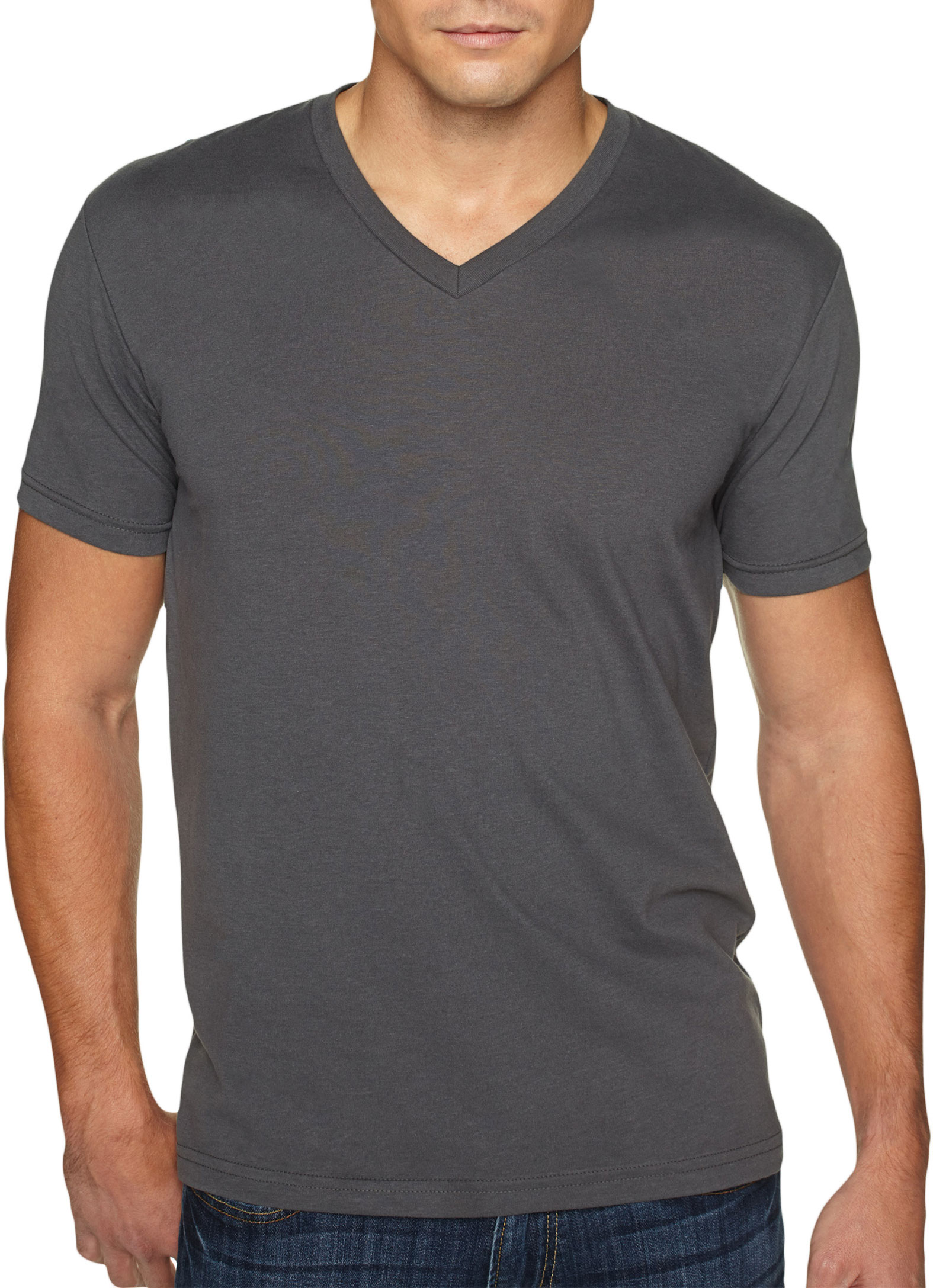 Next Level Premium Sueded V-neck T-Shirt