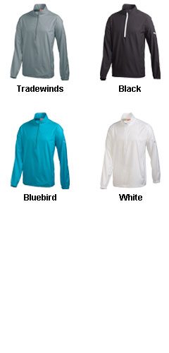 Puma Golf 1/2 Zip Long Sleeve Wind Jacket - All Colors