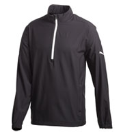 Puma Golf 1/2 Zip Long Sleeve Wind Jacket