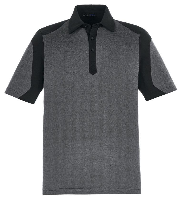 Mens Merge Cotton Blend Polo