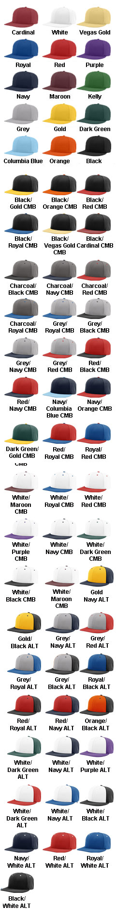 Richardson Dryve R-Flex Cap - All Colors