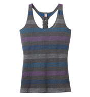 Juniors Reverse Striped Tank