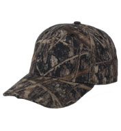 Structured Camo Cap with Panther Vision Lighting