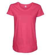 Custom Ladies Scoopneck Maternity T-Shirt