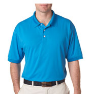 Mens Platinum Performance Pique Polo