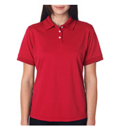 Custom Ladies Platinum Performance Pique Polo