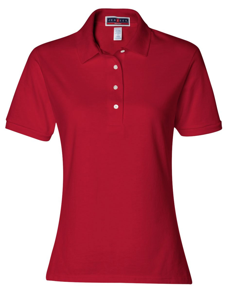 Jerzees Ladies 50/50 Jersey Polo with SpotShield�