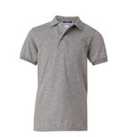 Custom Jerzees Youth 50/50 Jersey Knit Polo with SpotShield�