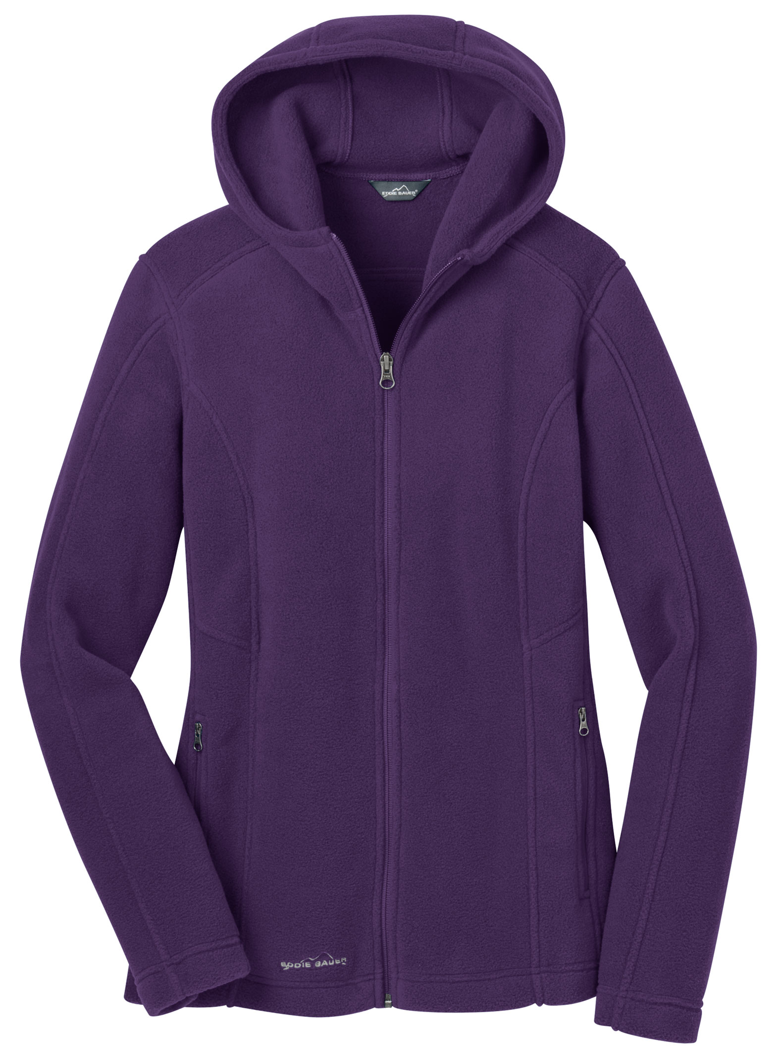 Eddie Bauer� Ladies Hooded Full-Zip Fleece Jacket